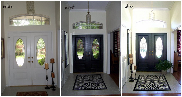 entrance hall collage