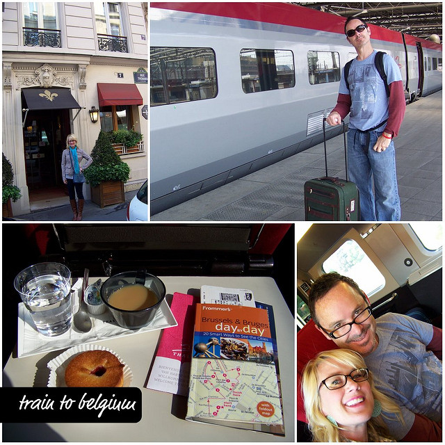 train to belgium