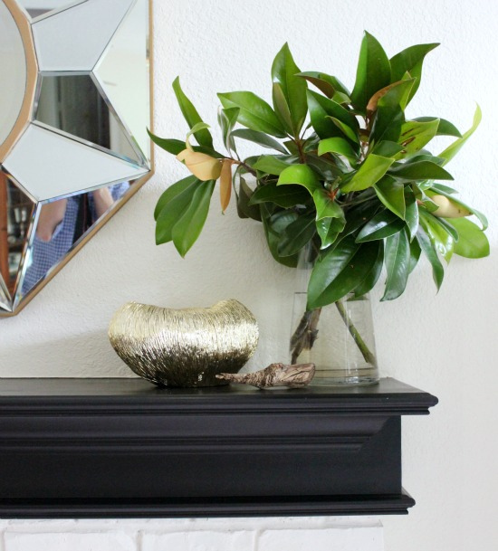 Hi Sugarplum | Mantel Vignette