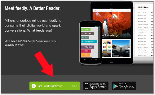 how to install feedly