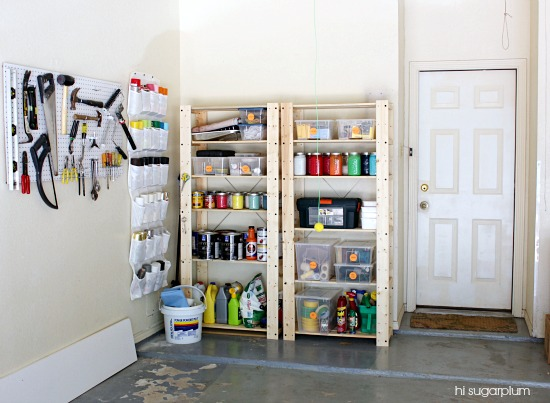 Hi Sugarplum | Happy Organized Garage