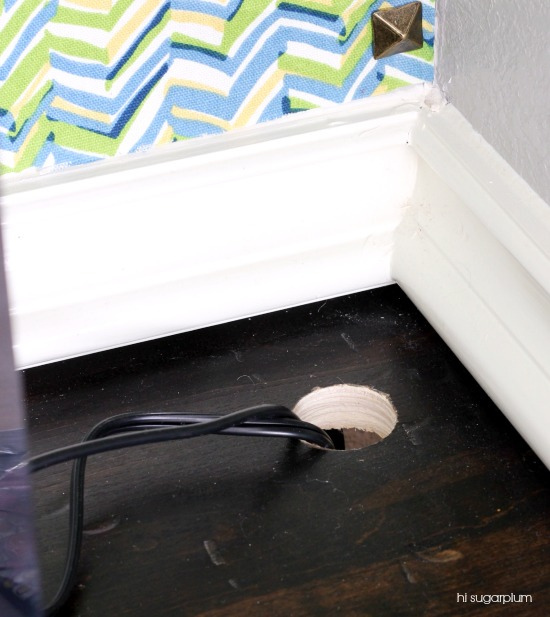 Hi Sugarplum | How to Hide Power Cords