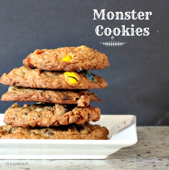 Hi Sugarplum | Monster Cookies