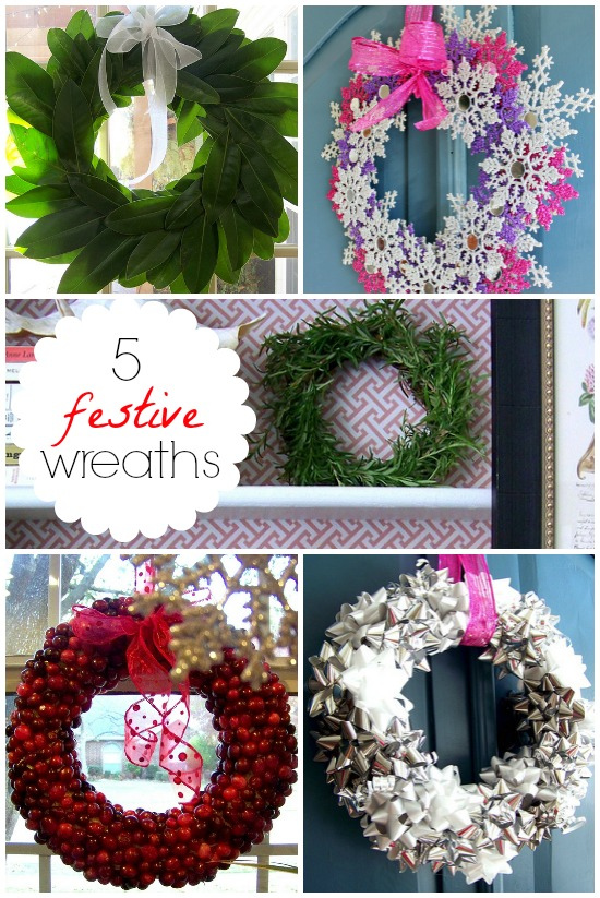 Hi Sugarplum | Festive DIY Wreaths