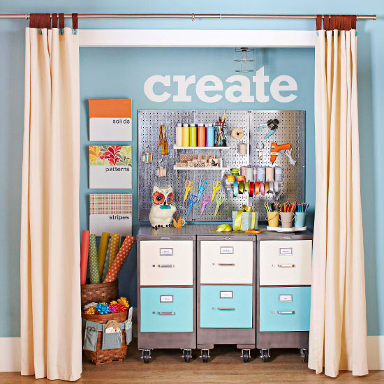 Craft Closet: Use Your Resources
