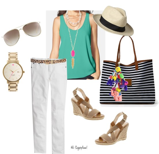 Summer white & bright