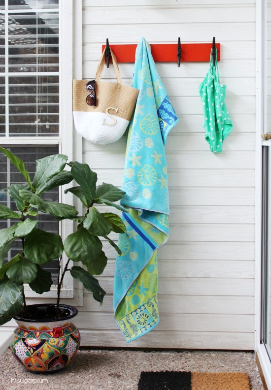 Hi Sugarplum | Nautical Towel Rack