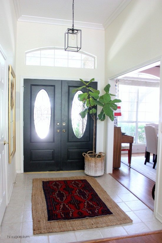 Hi Sugarplum | Layers of an Entrance Hall (style & color)
