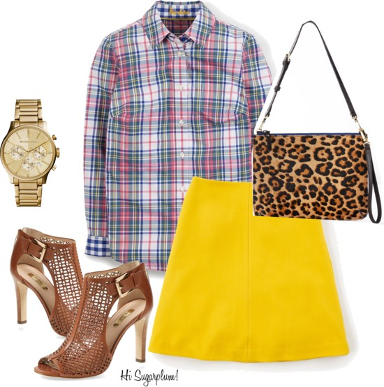 Plaid & Leopard