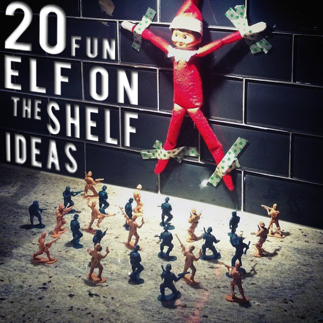 Hi Sugarplum / 20 Fun Elf on a Shelf Ideas