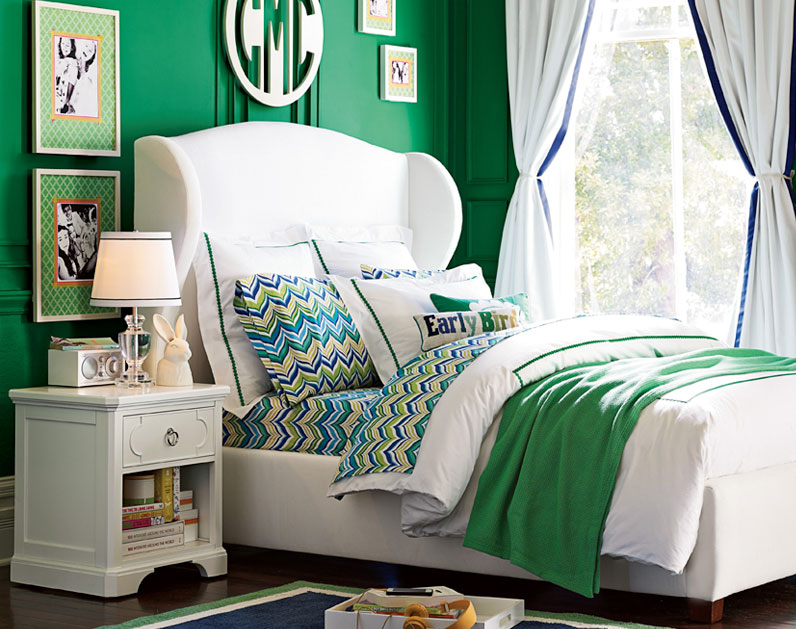 Pb Teen Girl Bedding: Surprise Source: PB Teen!