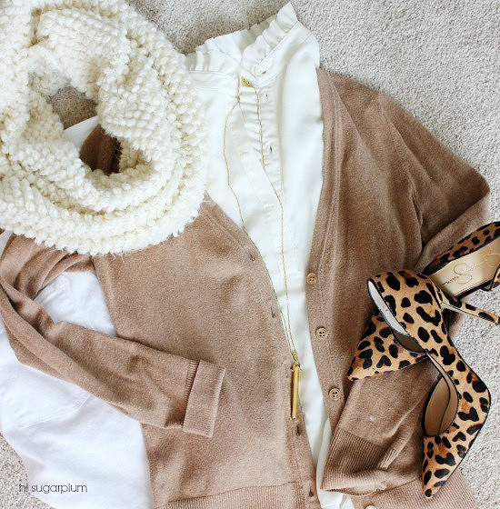 Hi Sugarplum | 3 Ways to wear Winter Neutrals