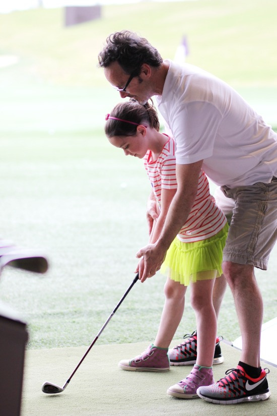 Hi Sugarplum | Family Golf Date