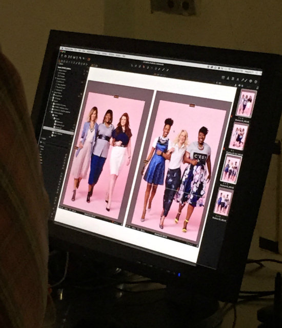 Hi Sugarplum | Behind the Scenes Redbook Real Women Real Style