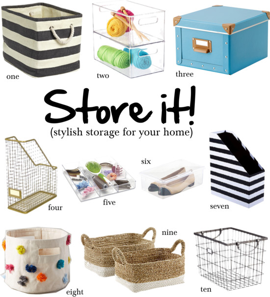 Stylish Storage