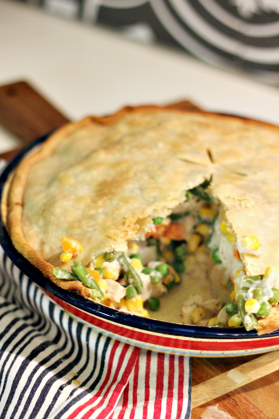Hi Sugarplum | Easy Chicken Pot Pie Recipe