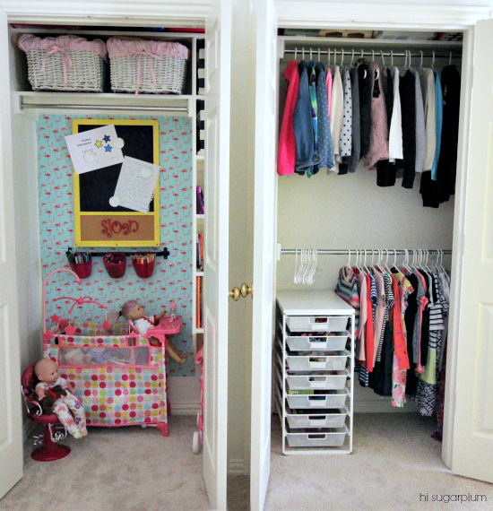 Hi Sugarplum | Organized Play Closet