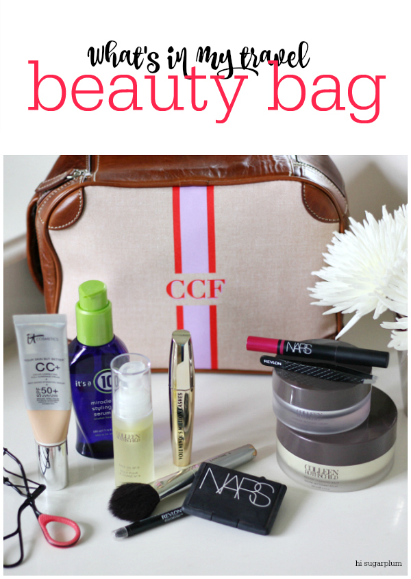Hi Sugarplum | In My Travel Beauty Bag