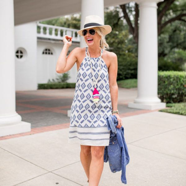 bright summer style outfit