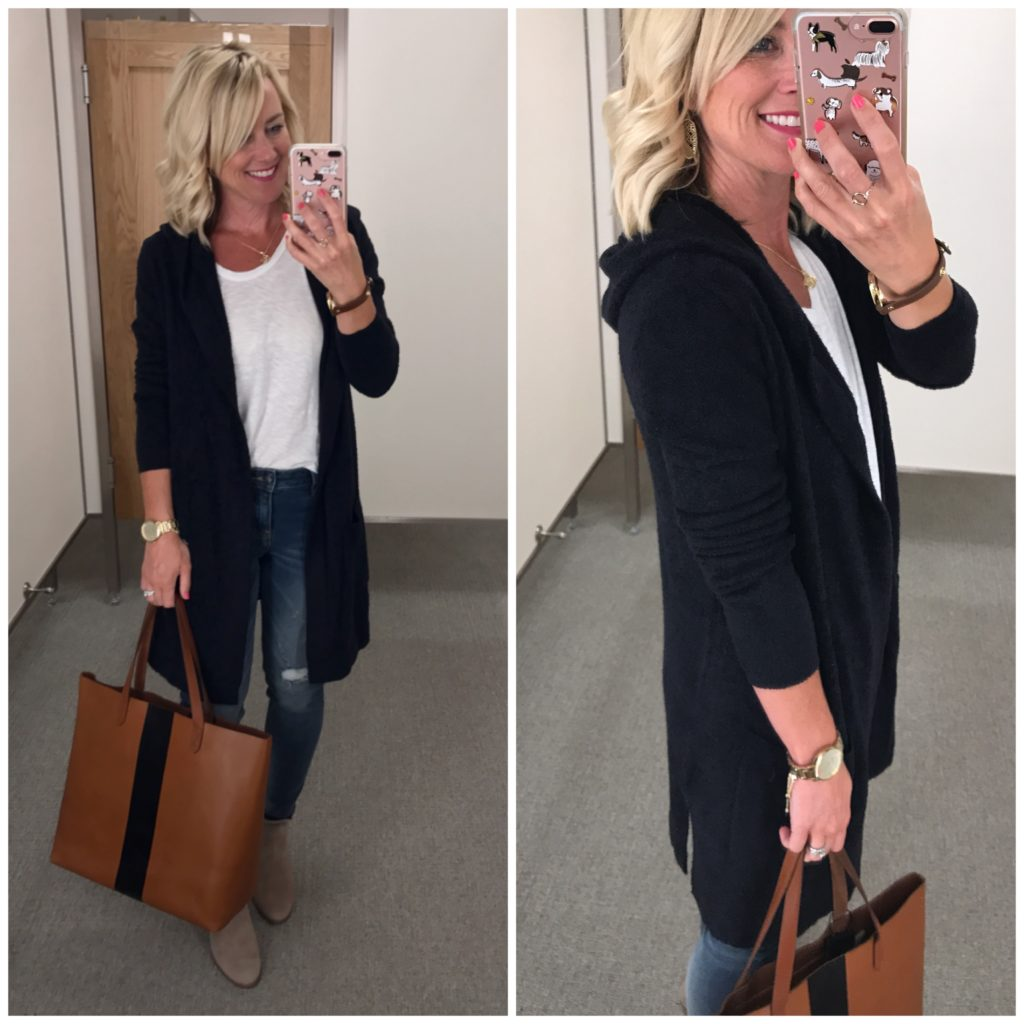nordstrom anniversary sale barefoot dreams hooded cardigan