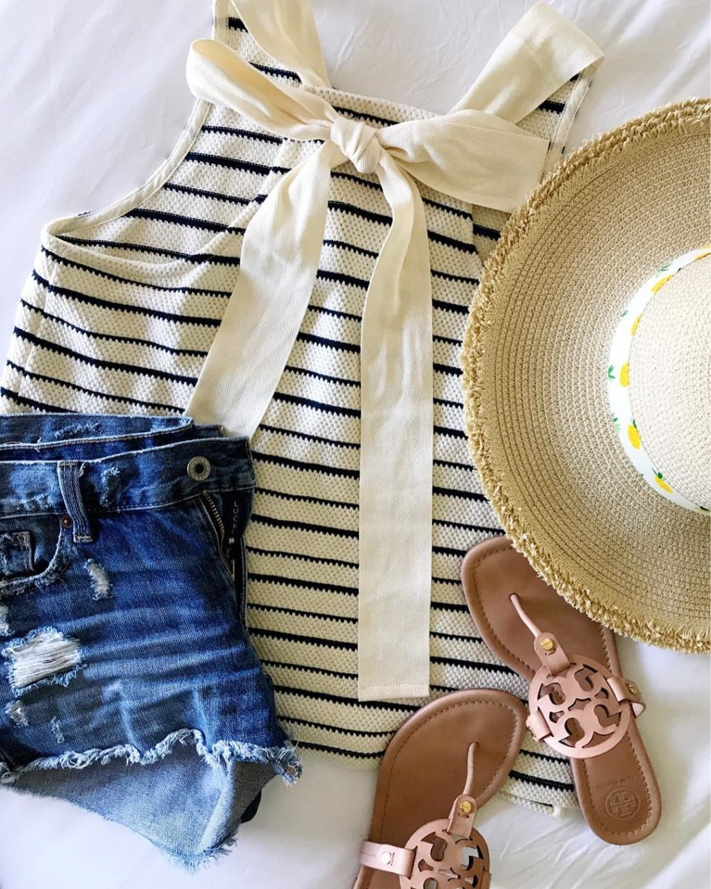 madewell striped tank summer style