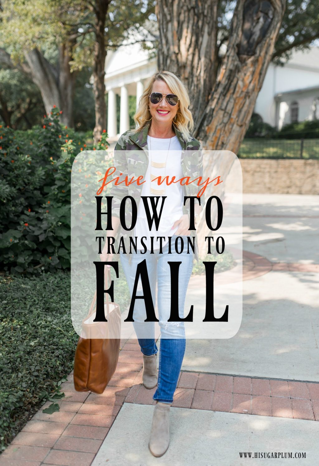 how to transition to fall