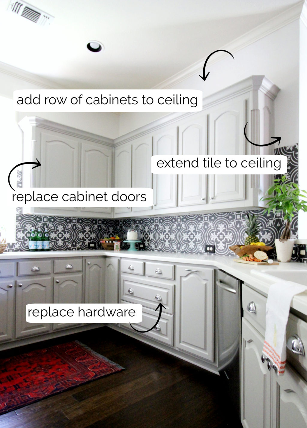 kitchen makeover plans