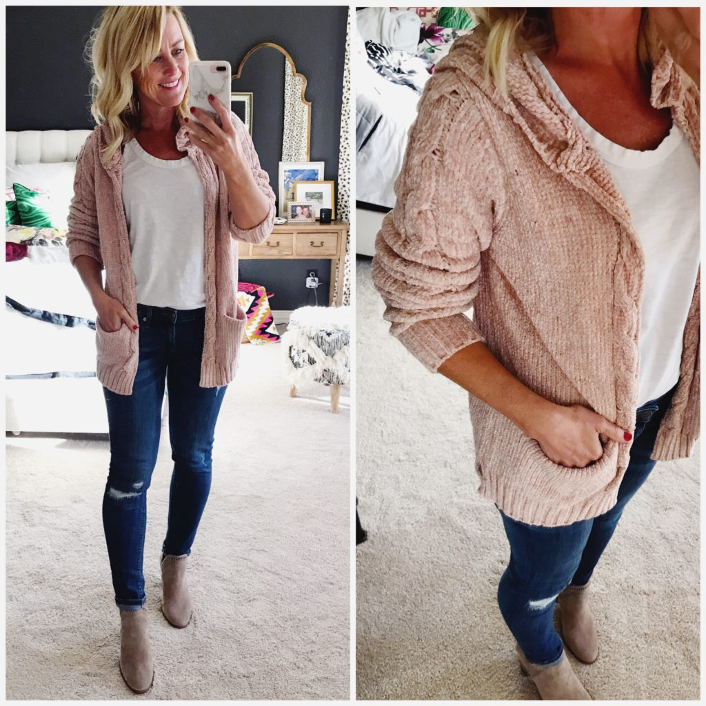 nordstrom hooded cardigan