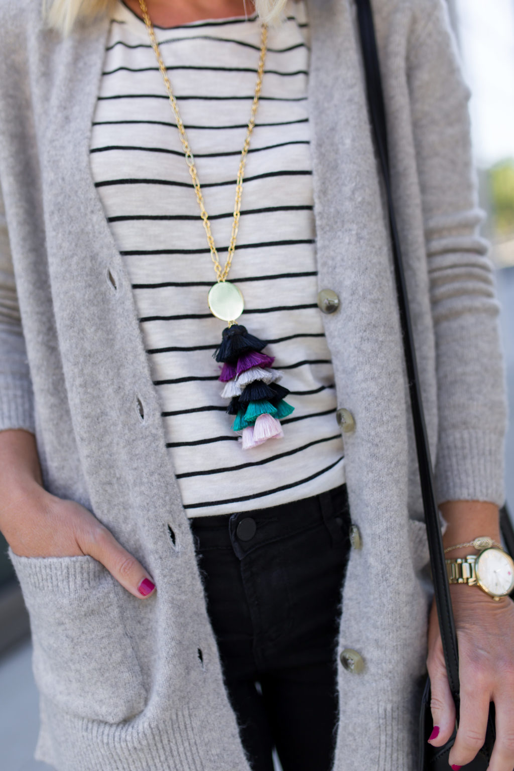 baublebar tassel necklace