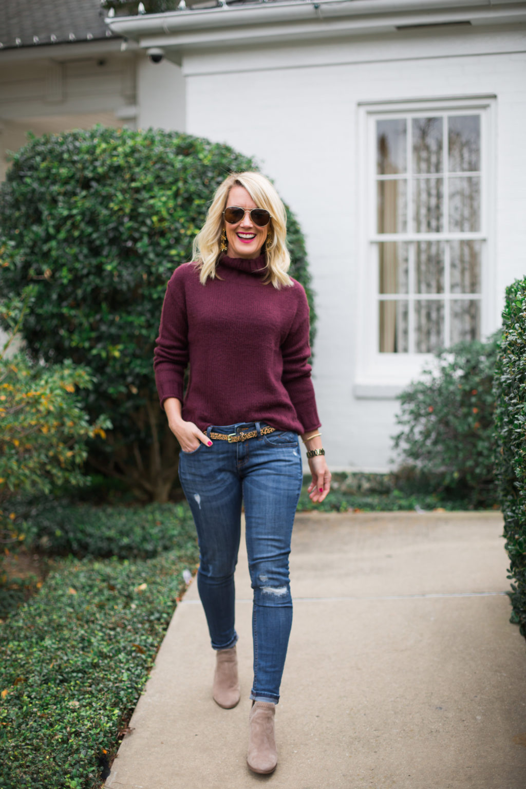 Wear Ankle Boots with Skinny Jeans