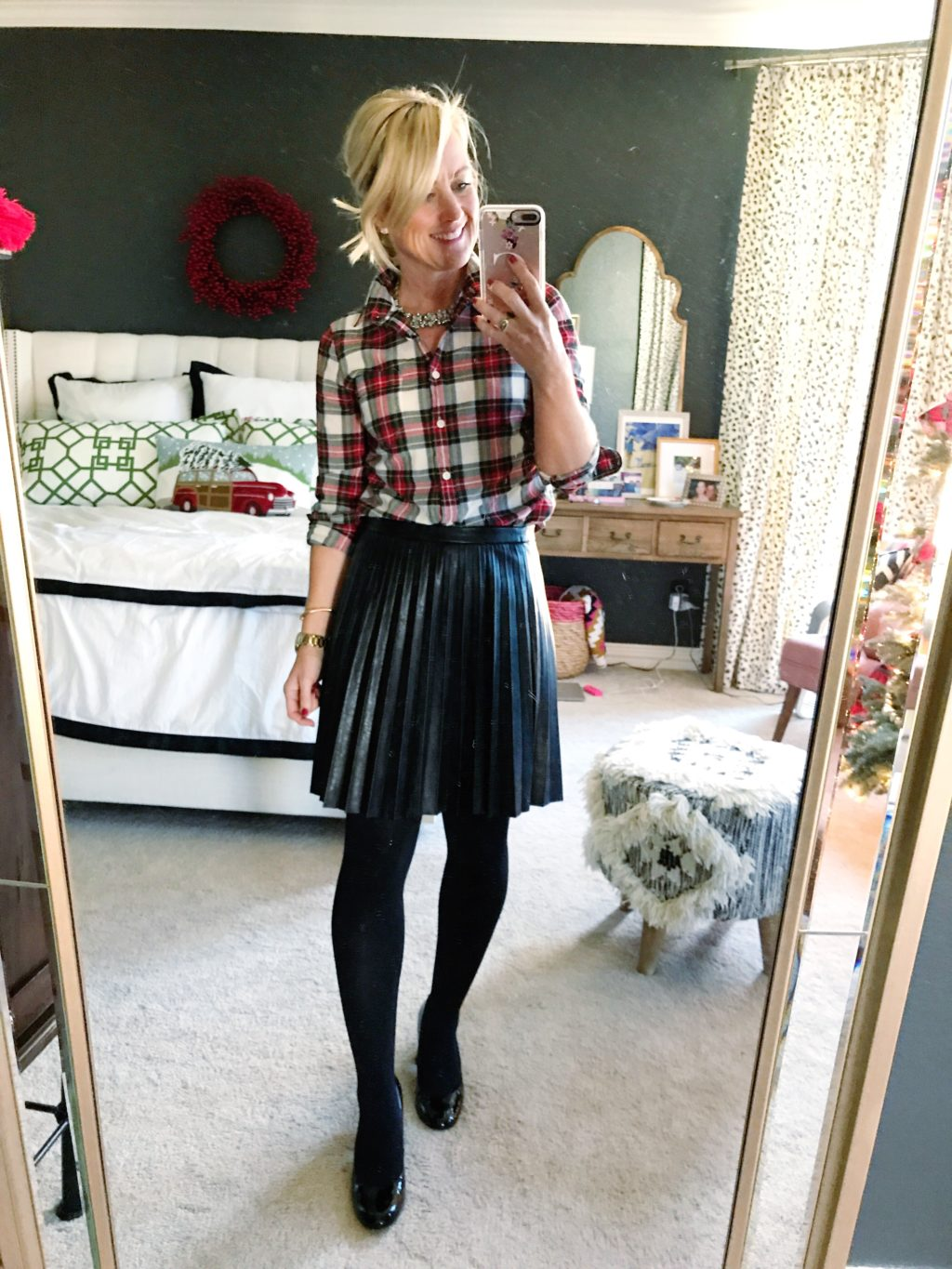 holiday party outfit