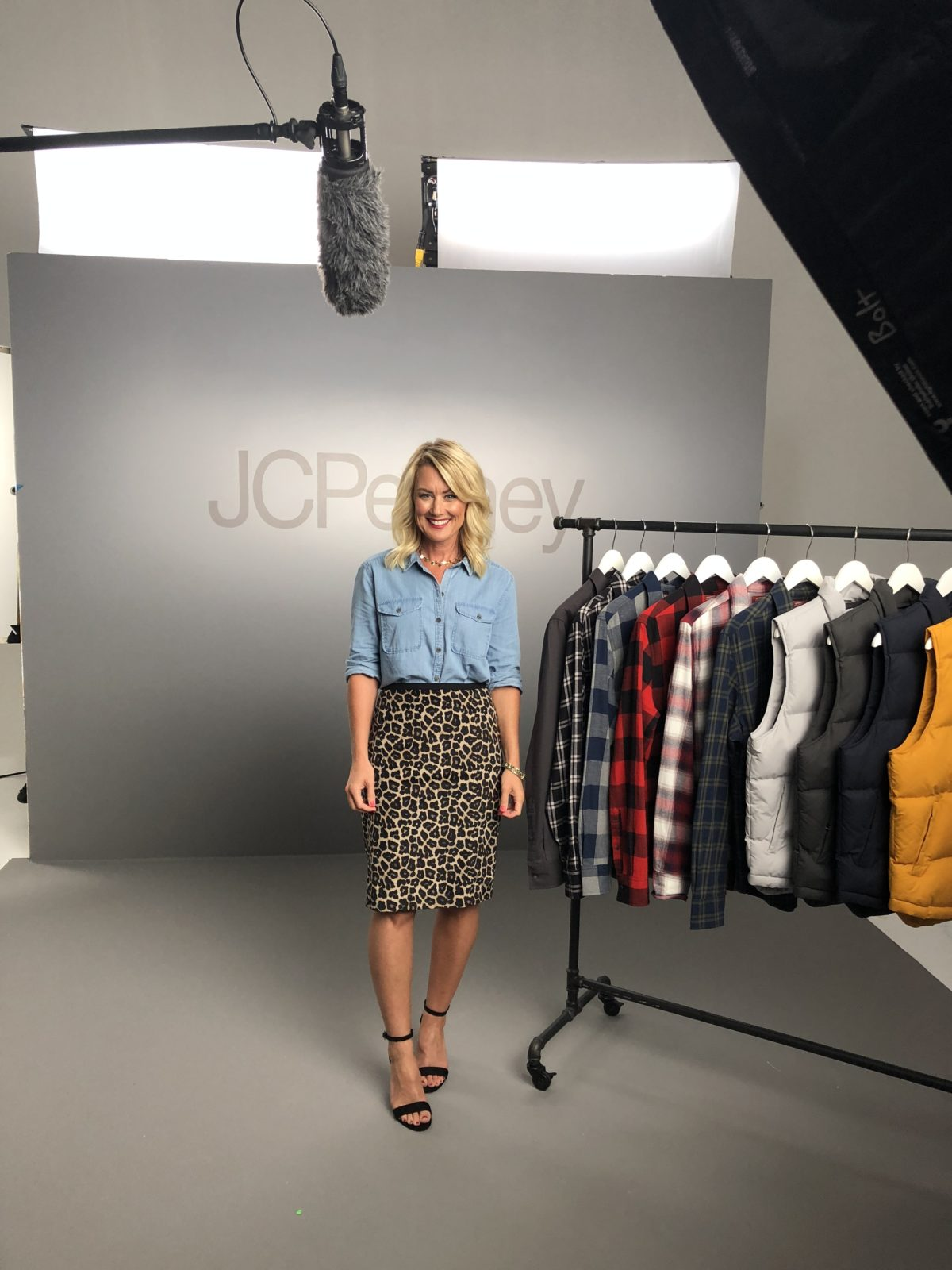 jcpenney video shoot