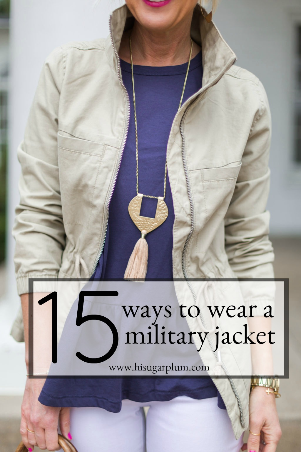 15 ways to wear a military jacket 2