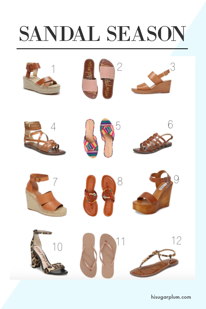 hi sugarplum sandal picks for spring