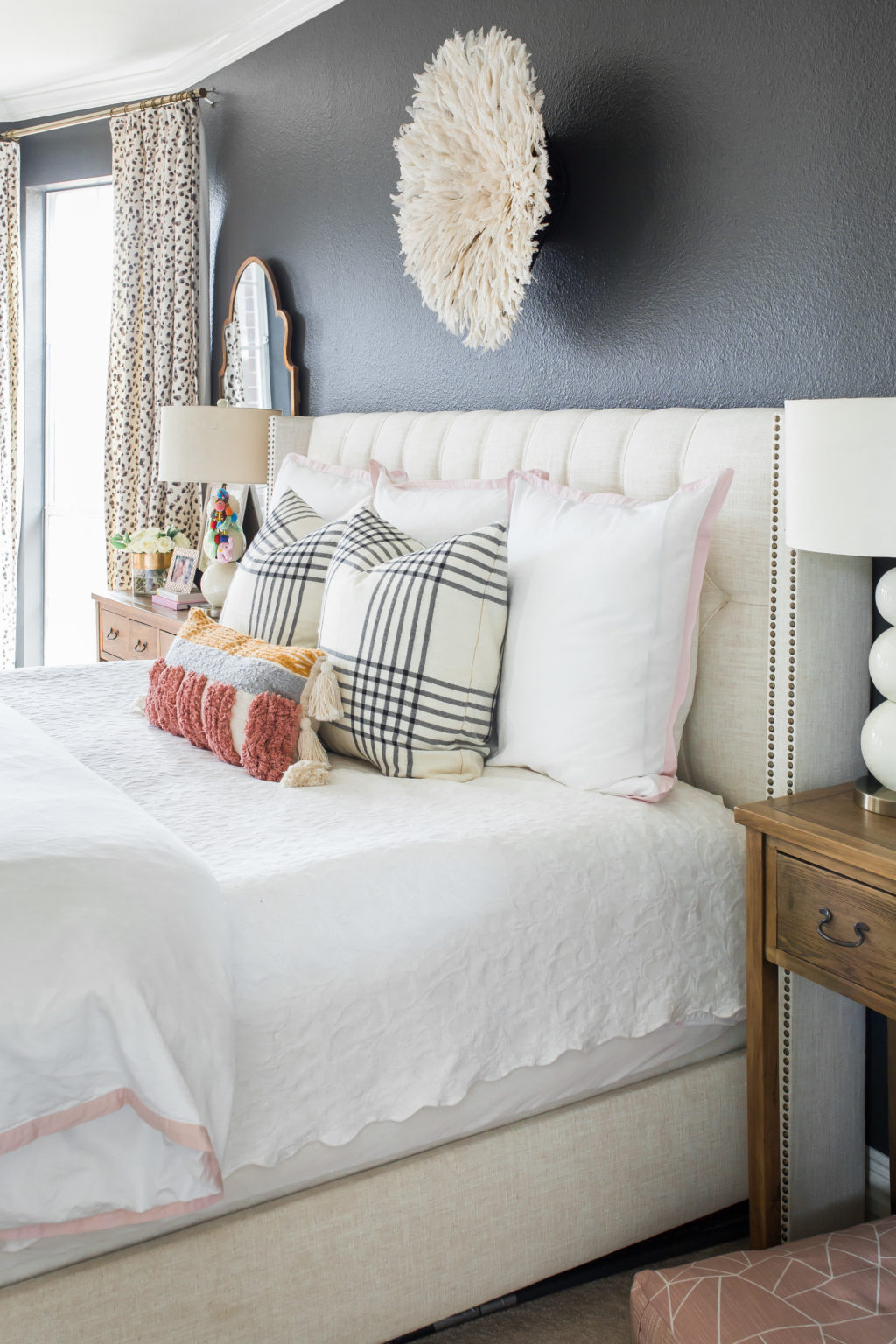 Master Bedroom Spring Refresh Hi Sugarplum
