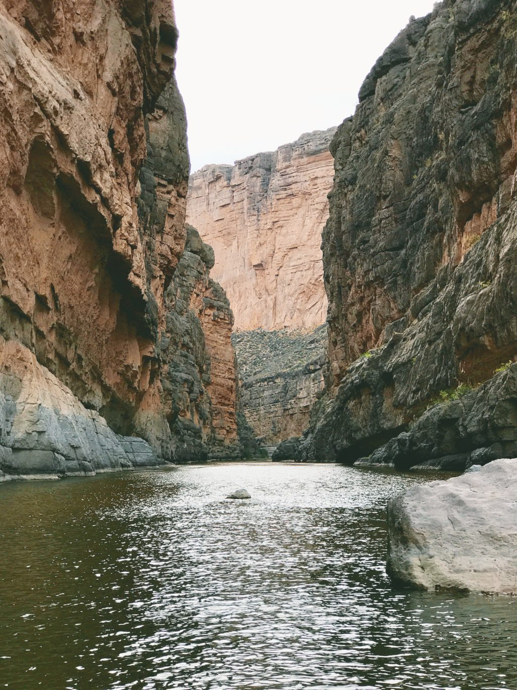 Big Bend National park river canyon
