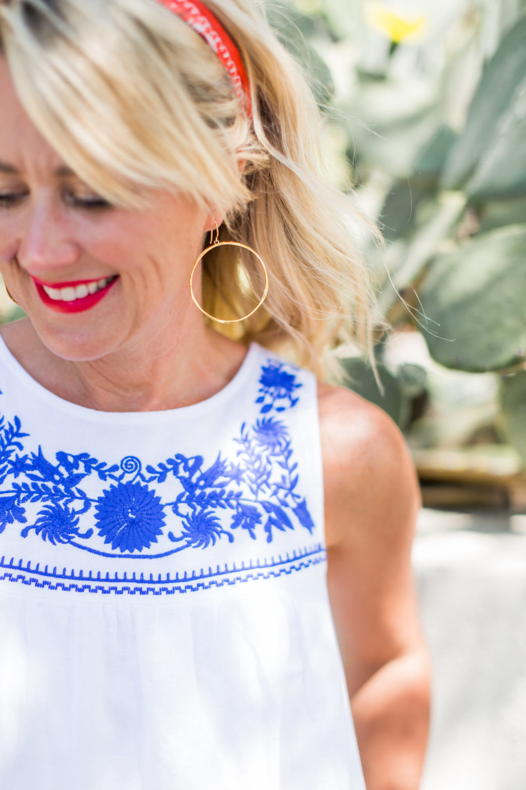 j.crew factory embroidered dress fourth of july