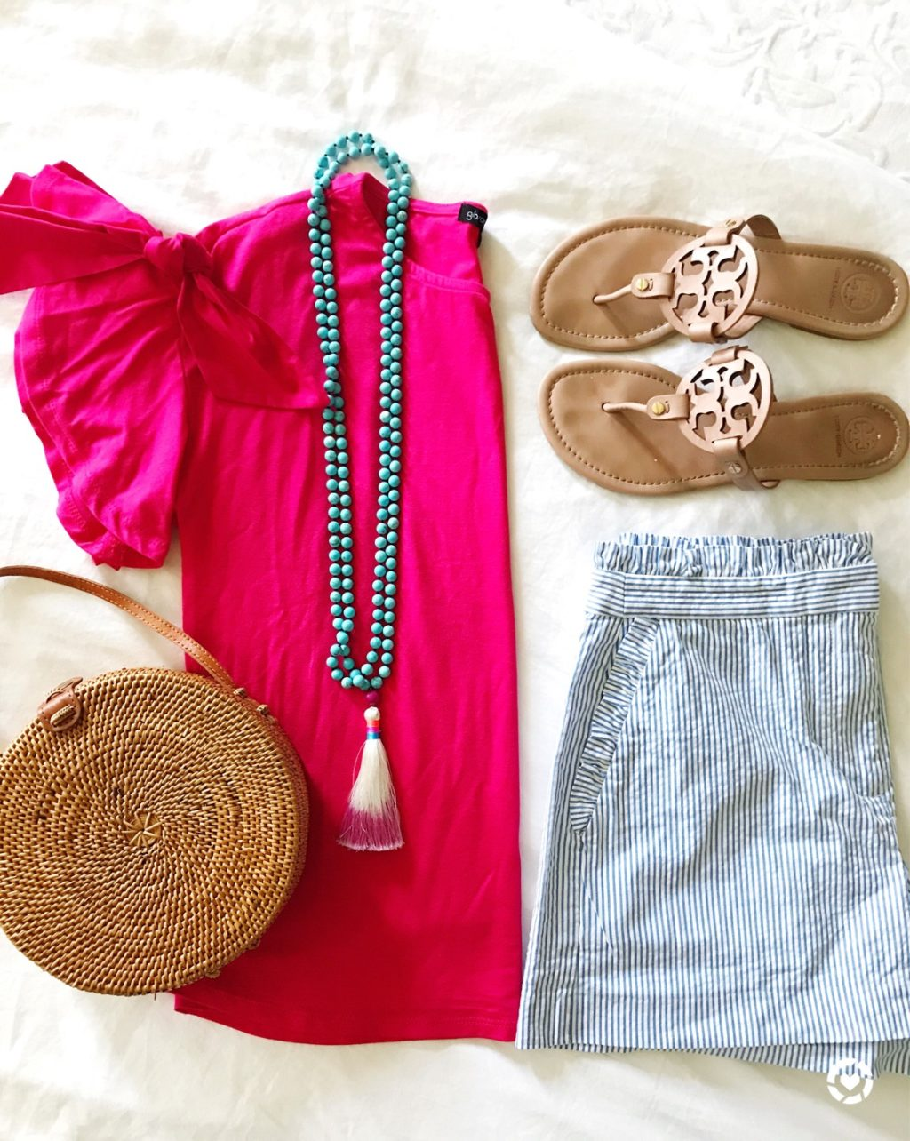 sugarplum style summer outfit