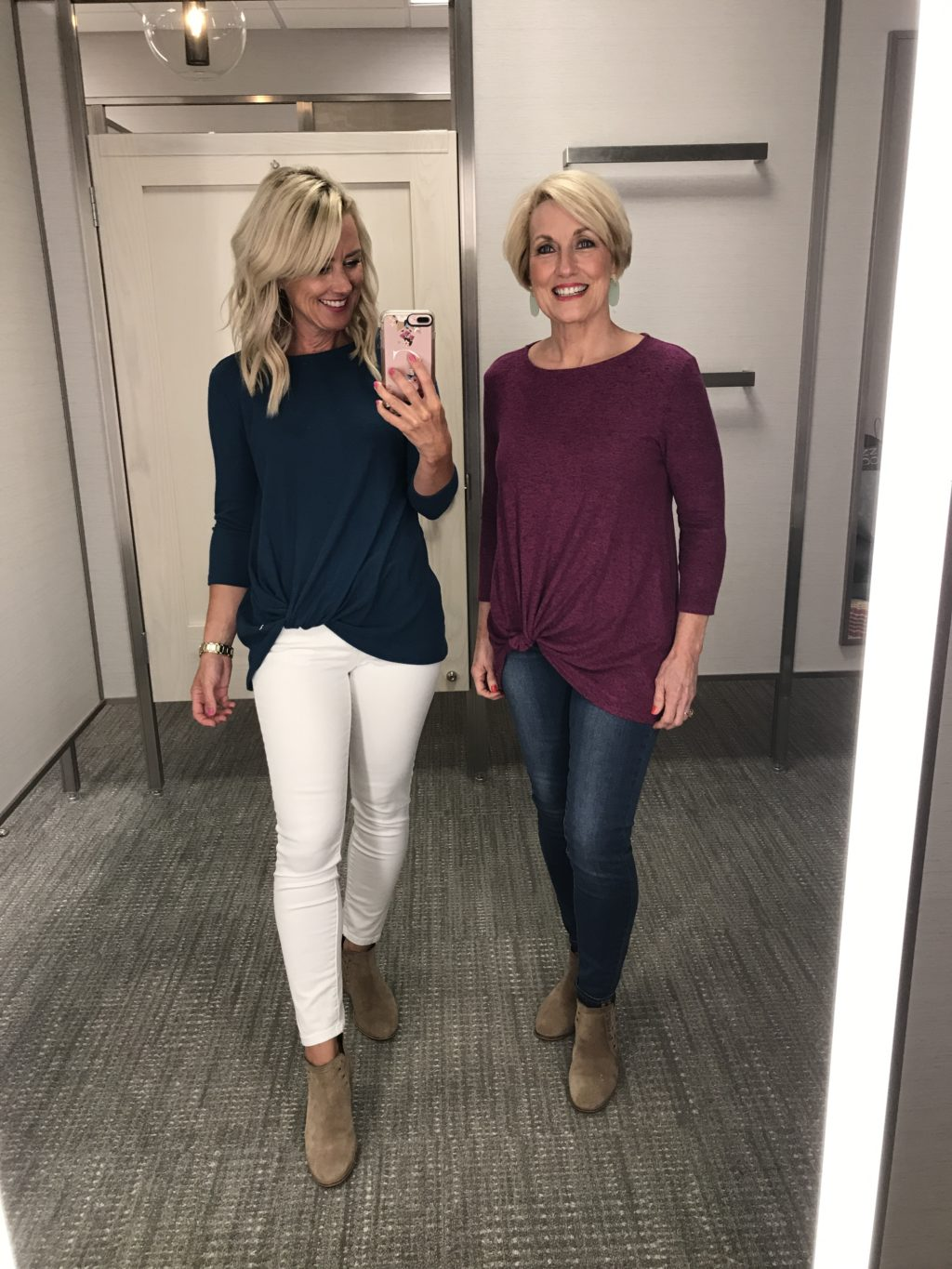 gibson cozy twist front pullover nordstrom anniversary sale