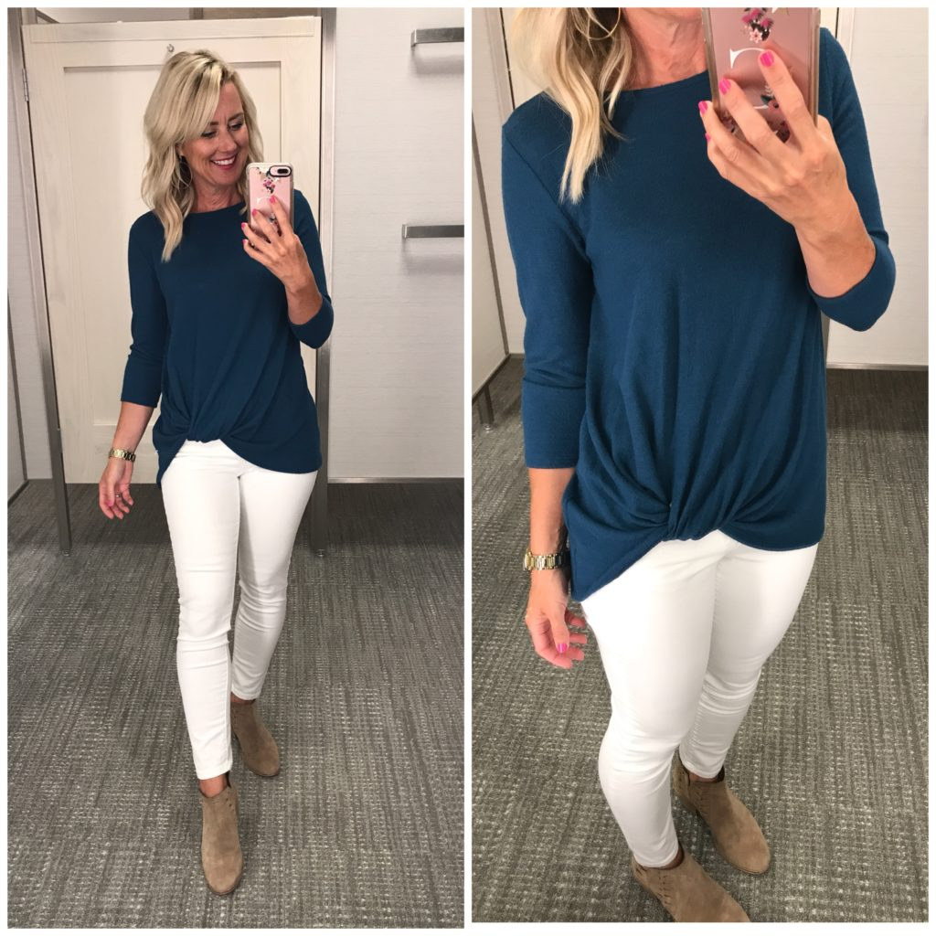 gibson cozey twist front pullover nordstrom anniversary sale