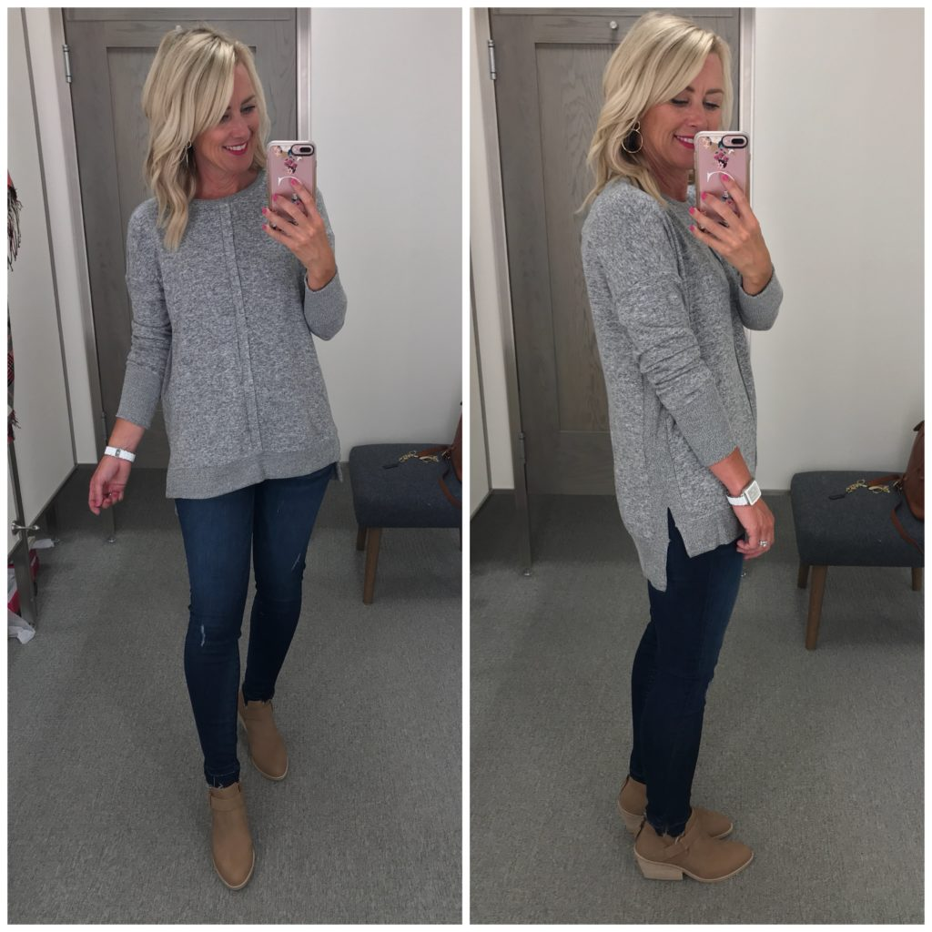 gibson cozy fleece tunic nordstrom anniversary sale