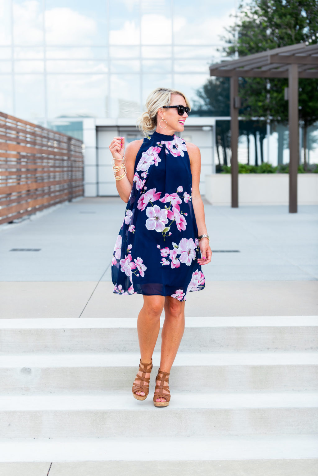 jcpenney floral dress summer