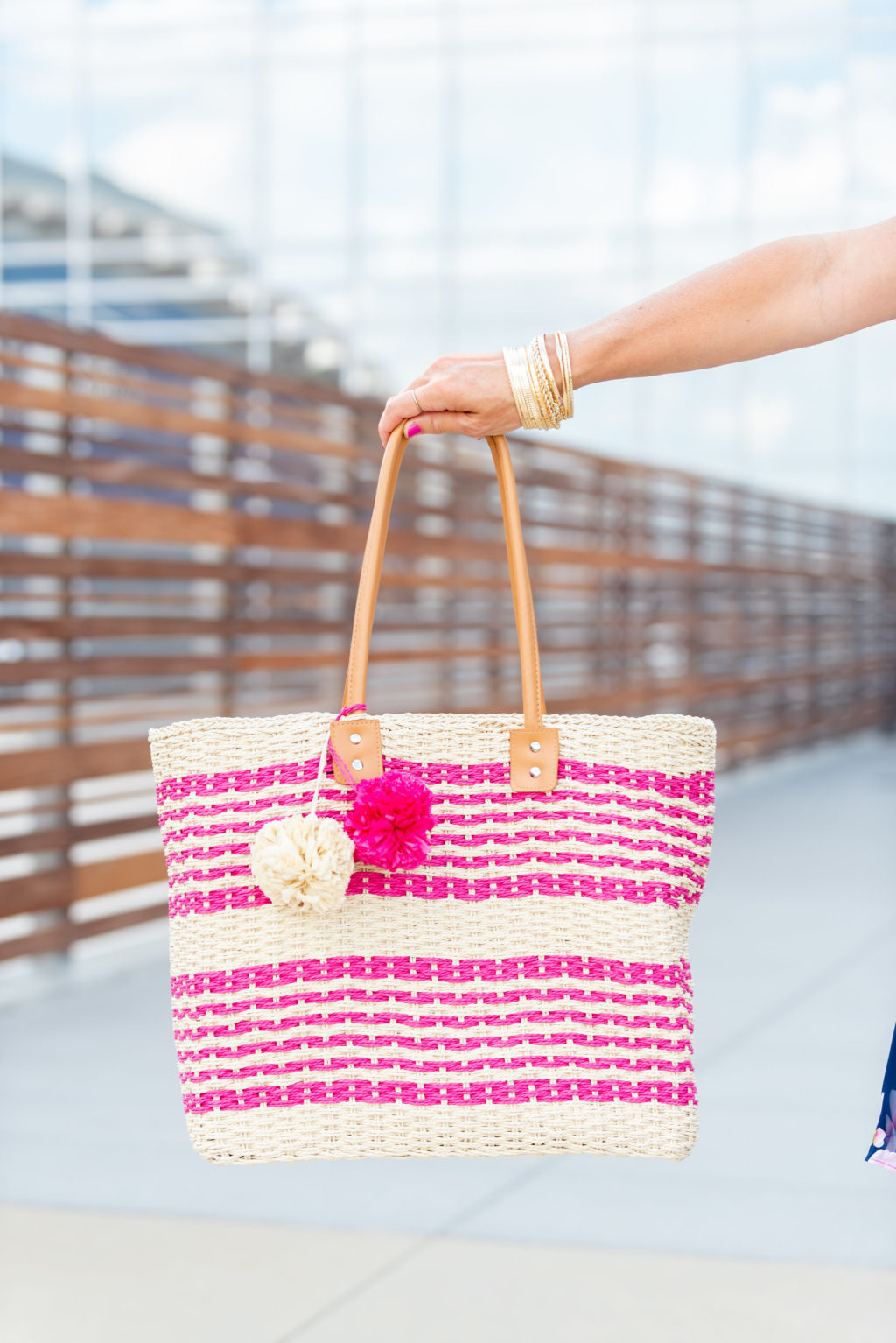 jcpenney straw tote