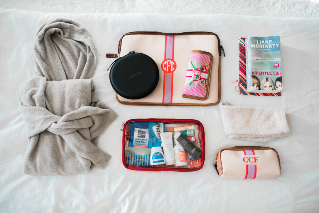 how to organize what to bring in a carry on on a long flight
