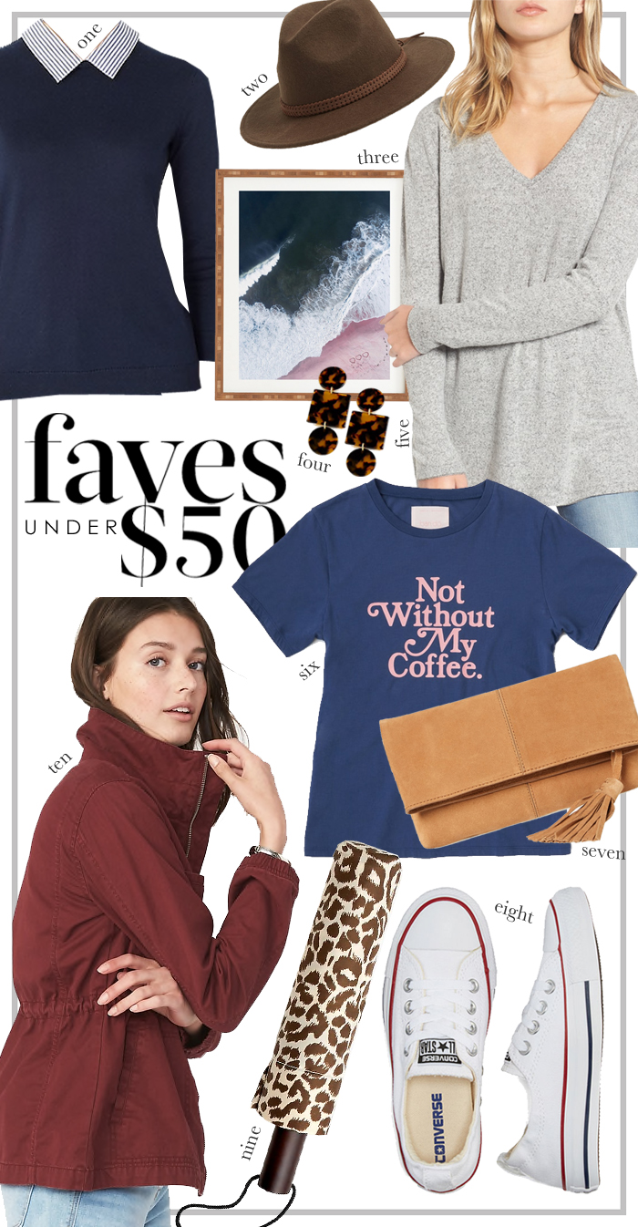 fall faves under $50