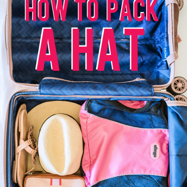 how to pack a hat