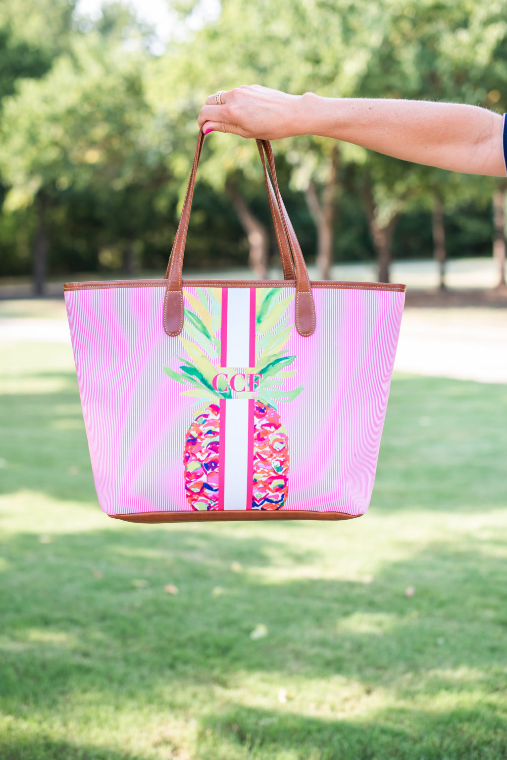barrington pineapple tote