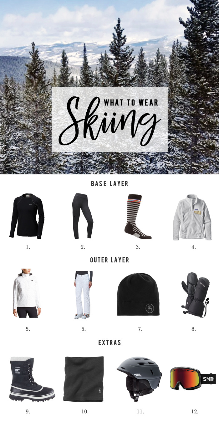 what to wear on a ski holiday