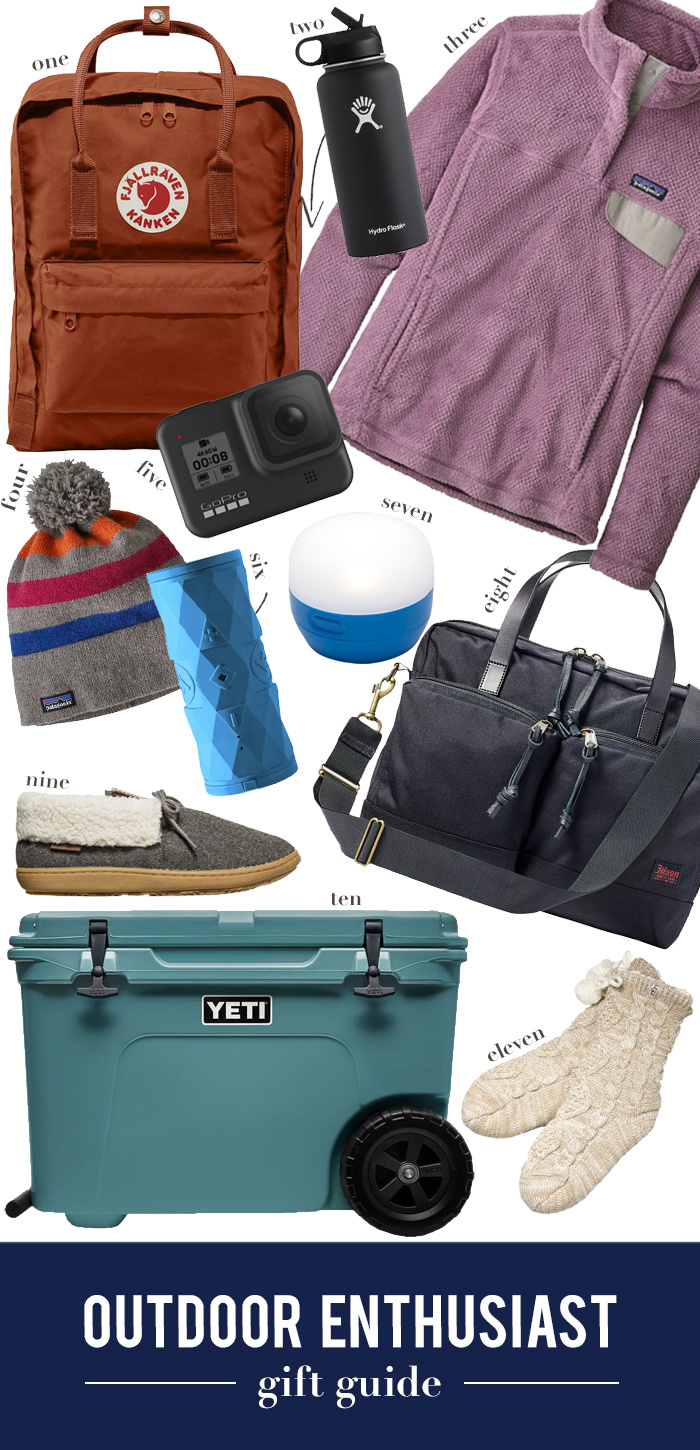 outdoor enthusiast gift guide