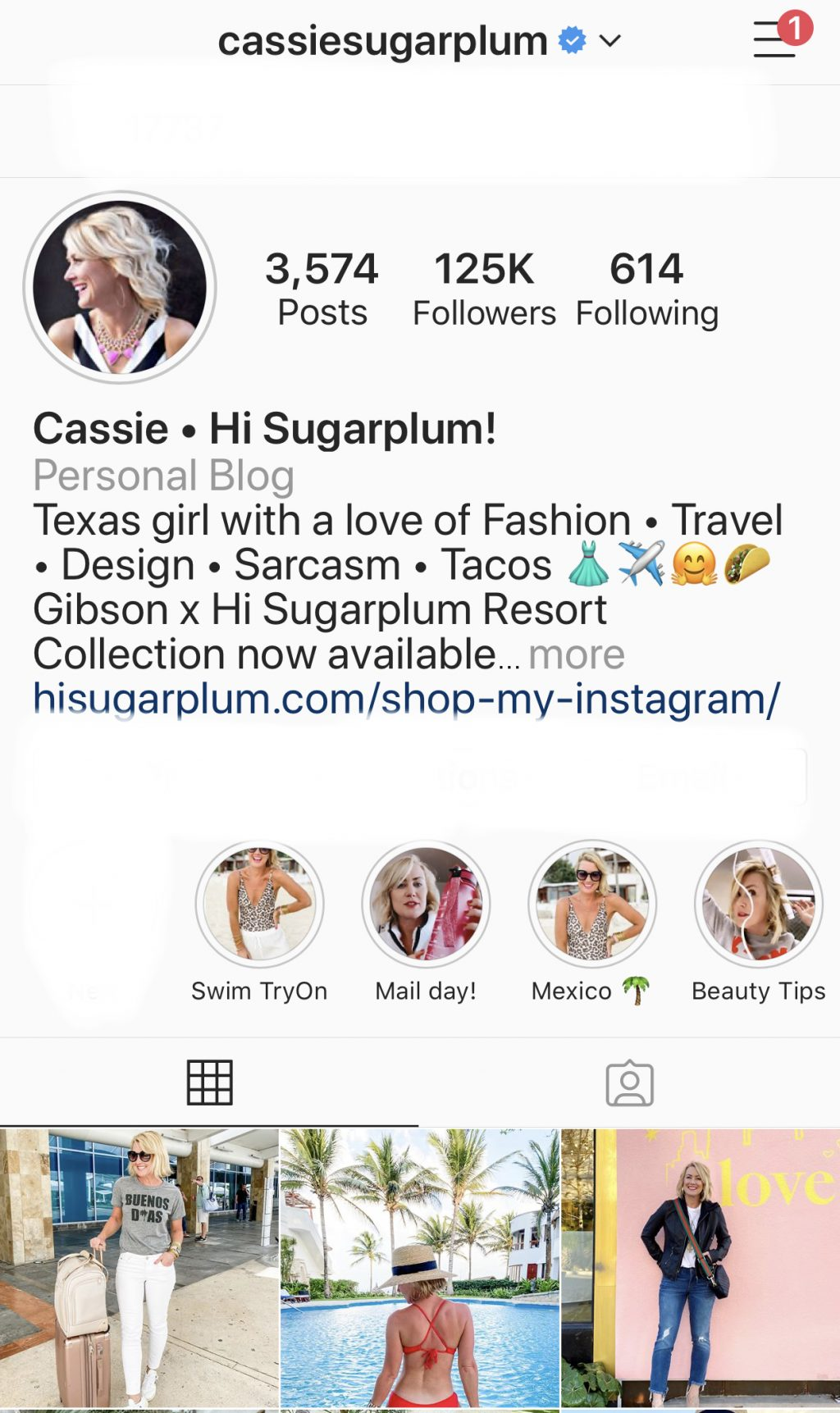 Cassie sugarplum instagram